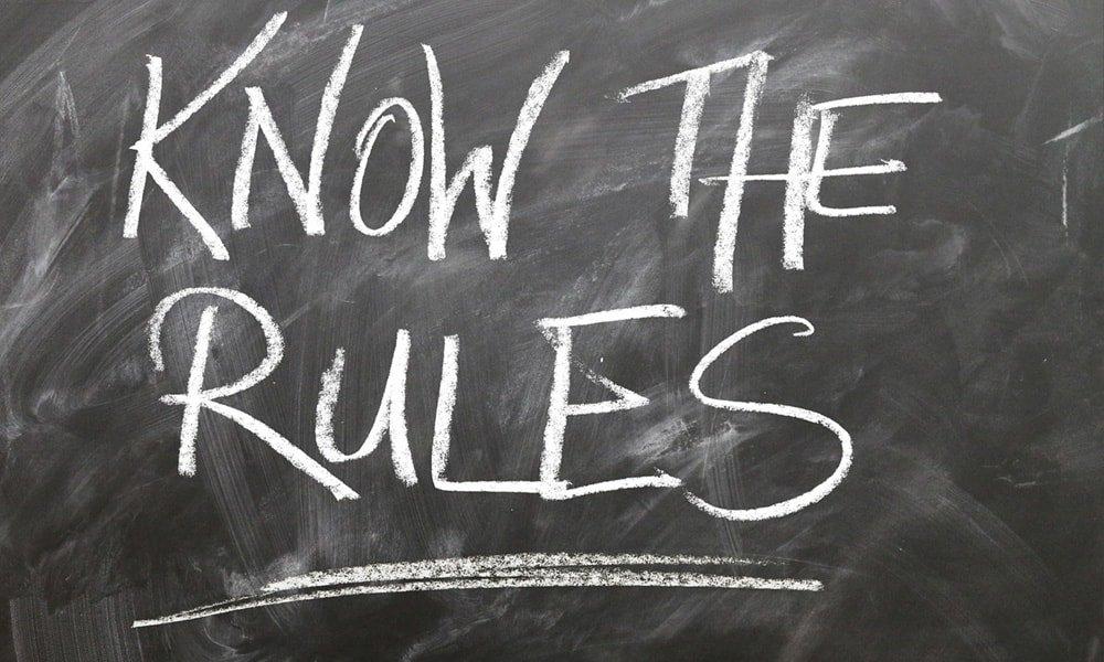 Regole, poche ma efficaci